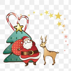 Santa Claus Christmas Tree - Ded Moroz Snegurochka Santa Claus Christmas Clip Art PNG