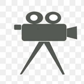 Camera Vector Cliparts - Video Cameras Black And White Clip Art PNG