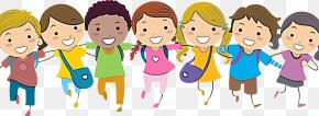 Child Fun - Cartoon People Social Group Community Youth PNG