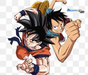 Monkey D. Luffy - Monkey D. Luffy Goku Toriko Dragon Ball One Piece PNG