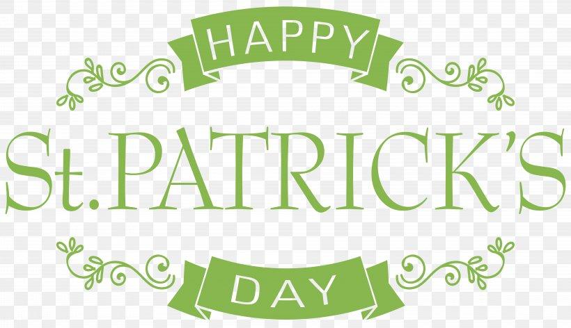 Saint Patrick's Day Text, PNG, 8000x4609px, Saint Patrick S Day, Brand, Cricut, Digital Scrapbooking, Green Download Free