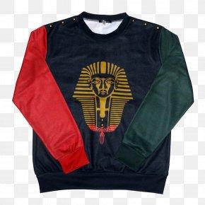 T-shirt - T-shirt Sleeve Hoodie Crew Neck Supreme PNG