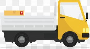 Flash Delivery Truck - Car Truck Commercial Vehicle Icon PNG