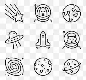 Space Galaxy - Icon Design Wedding Invitation Clip Art PNG