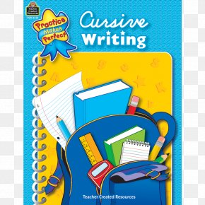 Cursive Writing Notebook Cover - Grammar, Usage & Mechanics Grade 3 English Grammar Education Practice PNG
