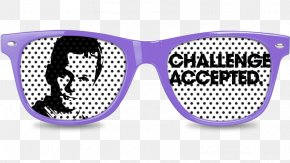 Challenge Accepted - Goggles Sunglasses PNG