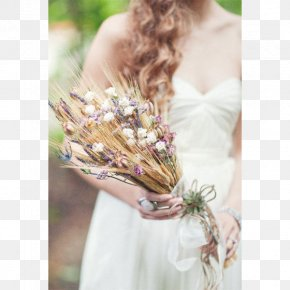 Wedding - Wedding Flower Bouquet Bride Wheat Ear PNG