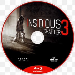 Bluray Disc - Insidious: Chapter 3 Film Director Actor PNG