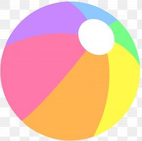 Pastel Cliparts - Beach Ball Clip Art PNG