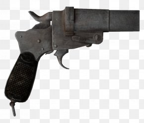 Hand Gun - Fallout: New Vegas Weapon Fallout 4 Flare Gun Firearm PNG
