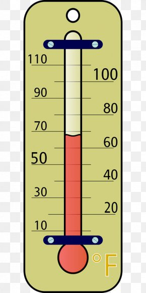 Yellow Thermometer Scale - Atmospheric Thermometer Weather Free Content Clip Art PNG
