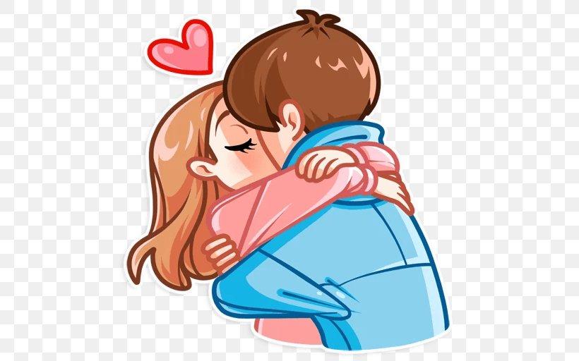 Love Sticker Interpersonal Relationship Valentine S Day Telegram Png 512x512px Watercolor Cartoon Flower Frame Heart Download Free