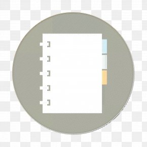 Paper Product Mirror - Notebook Icon Notebook With Separators Icon Organized Notebook Icon PNG
