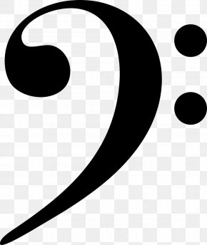 Musical Note - Clef Bass Musical Note Clip Art PNG