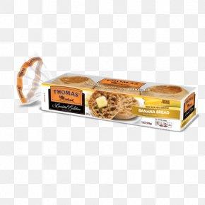 Bagel - English Muffin Bagel Banana Bread Thomas' PNG