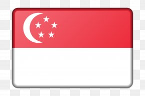 Flag - Flag Of Singapore Flag Of Indonesia Clip Art PNG