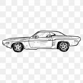 Automotive Artwork - Car Adobe Illustrator PNG