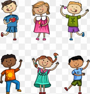 Vector Illustration Cute Children - Child Download Illustration PNG
