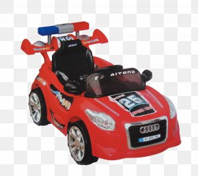 Red Police Car - Model Car Toy Police Car PNG