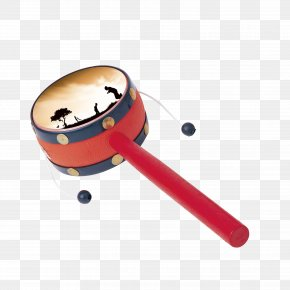 Children's Toys Creative Hand Drum - Pellet Drum Download PNG
