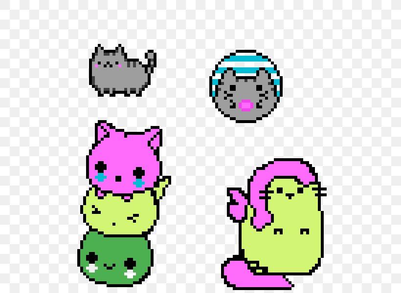 Kawaii Cat Pixel Art Minecraft