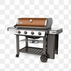 Barbecue - Weber Genesis II E-410 Barbecue Weber-Stephen Products Propane Gas Burner PNG