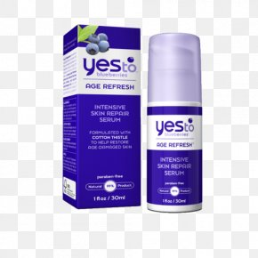 Oryza Sativa - Anti-aging Cream Yes To Blueberries Age Refresh Intensive Skin Repair Serum Life Extension Lotion PNG
