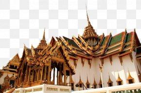 Thai Palace Landscape Plan - Grand Palace Temple Of The Emerald Buddha Wat Pho Dusit Maha Prasat Throne Hall Sivalai PNG