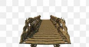 Bridge - Timber Bridge Rendering 3D Computer Graphics PNG