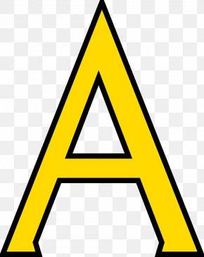 Letter A - Letter Alphabet Clip Art PNG