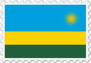 Stamps Clipart - Flag Of Rwanda National Flag Flag Of Saint Vincent And The Grenadines PNG