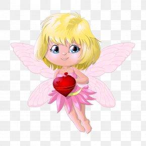Vector Little Angel - Valentines Day Angel February 14 Clip Art PNG