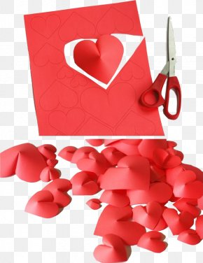 Hand Paper-cut - Valentines Day Christmas Decoration Gift Interior Design Services Do It Yourself PNG