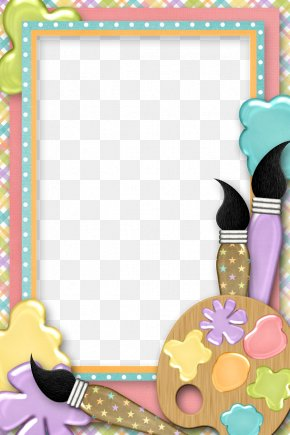 Painting Cliparts Border - Picture Frames Painting Clip Art PNG