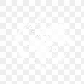 Vector Science And Technology Earth - Black And White Pattern PNG