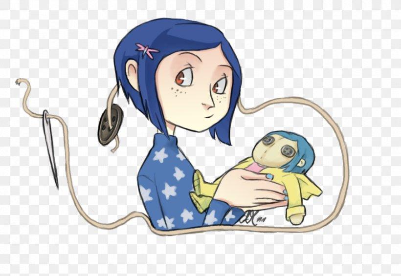 Coraline Jones Wybie Lovat Fan Art Png 900x621px Watercolor Cartoon Flower Frame Heart Download Free