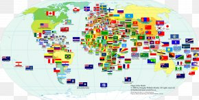 World Map - World Map National Flag PNG
