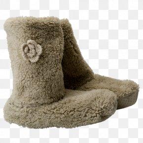 Boot - Slipper Snow Boot Wool Fur PNG