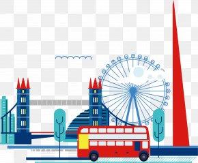 Ferris Wheel Element - The Shard Skyline City Of London Clip Art PNG