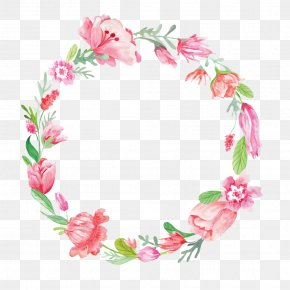 Creative Beautiful Wreath - Wreath Stock Photography Flower Royalty-free Clip Art PNG