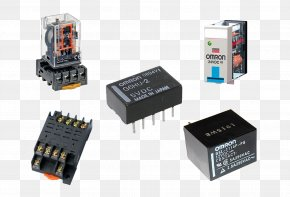 Electronic Component - Electronic Component Electronics Omron Relay Schneider Electric PNG