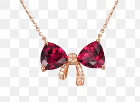 Ruby Necklace - Ruby Earring Necklace Jewellery PNG
