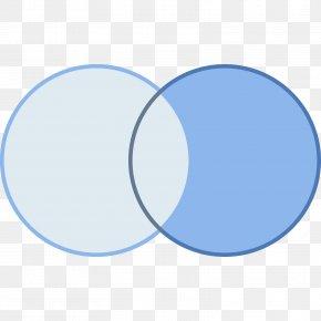 Circle - Electric Blue Cobalt Blue Aqua PNG