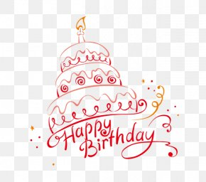 Happy Birthday Cake - Birthday Cake Happy Birthday To You Greeting Card PNG