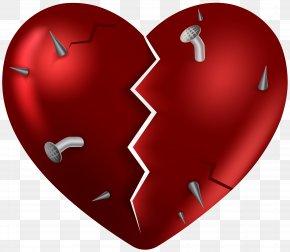 Broken Heart Clip Art Image - Broken Heart Clip Art PNG