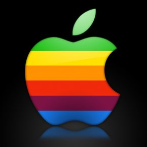 Apple - IPhone Apple Worldwide Developers Conference Logo Rainbow PNG