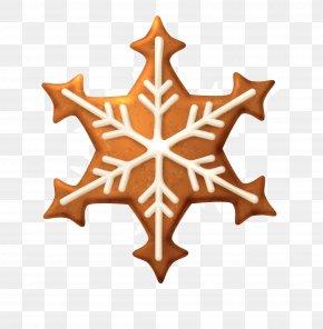 Brown Snowflake Cookies - Snowflake Clip Art PNG
