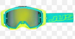 GOGGLES - Yellow Green Motorcycle Helmets Blue Goggles PNG