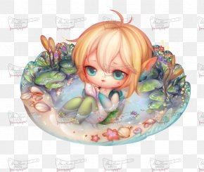 Doll - Cartoon Doll Legendary Creature PNG