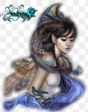Fairy - Fairy Artist Painting PNG